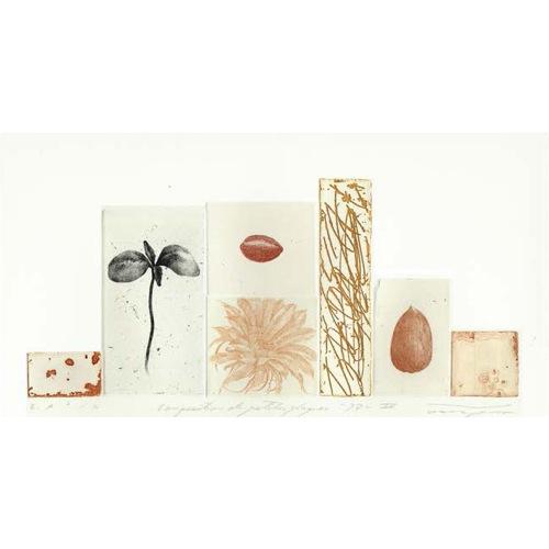 Composition petites plaques -97-IV