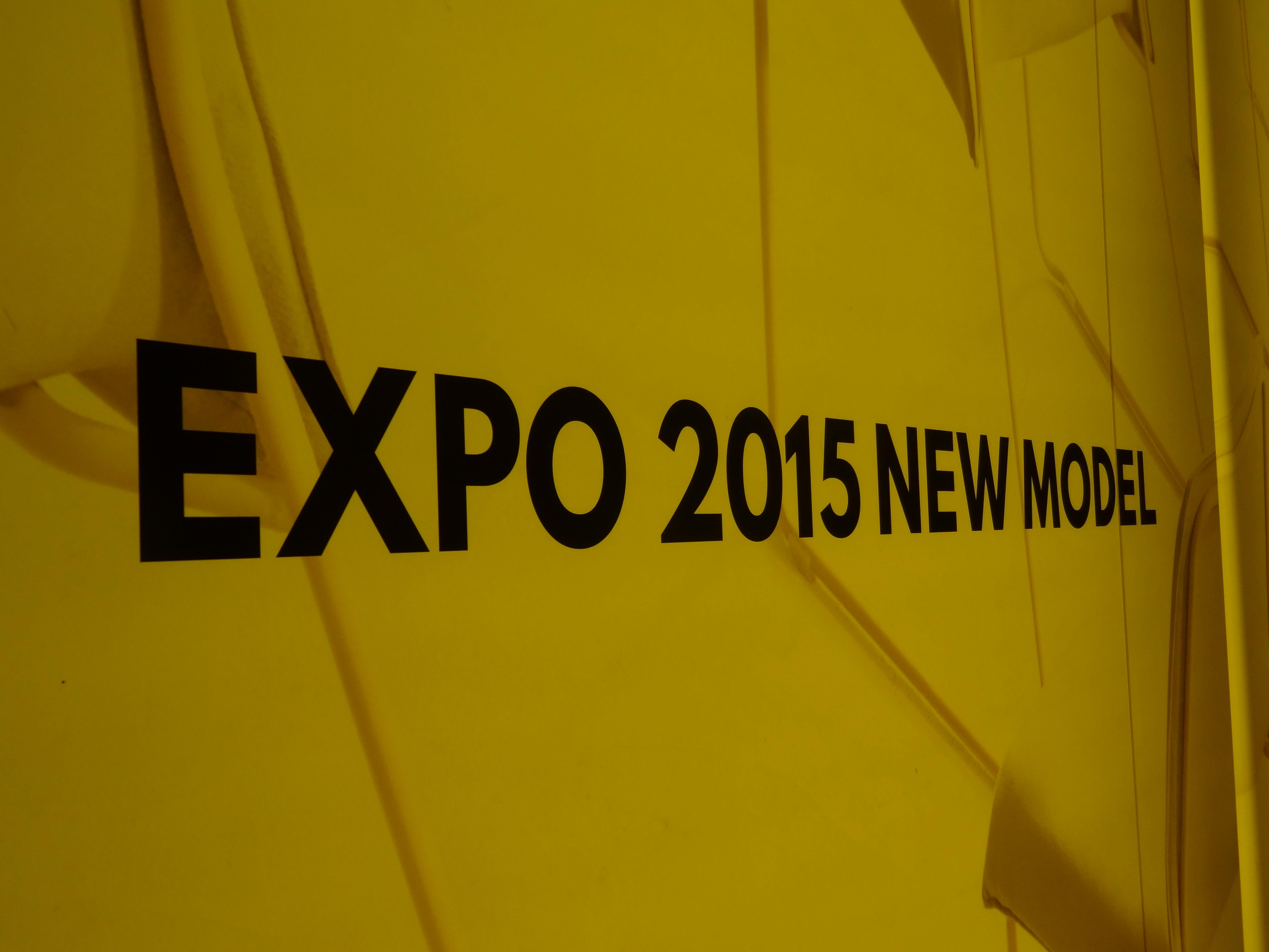 新作展示会「EXPO 2015 NEW MODEL」